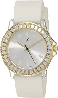 Fastrack Hip Hop Analog White Dial Women's Watch NM9827PP01 / NL9827PP01
