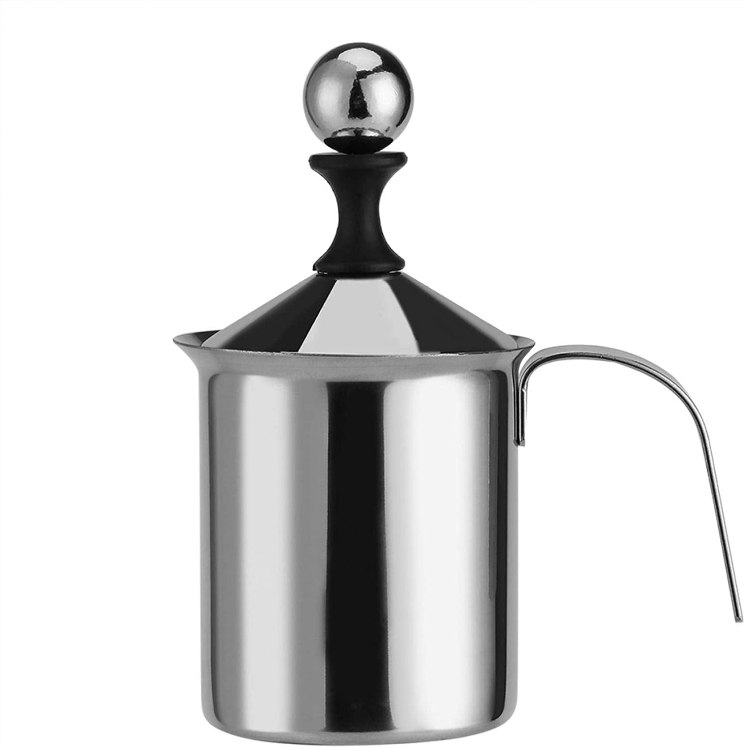 Shoplice Hand Pump Milk Today's only Frother - 800ML Popular product Ma 400ML Steel Stainless