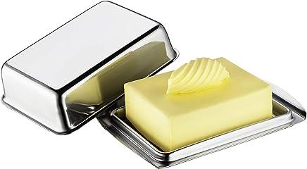 Küchenprofi Kühlschrank-Butterdose ½ Pfund, Edelstahl, Silber preisvergleich bei geschirr-verleih.eu
