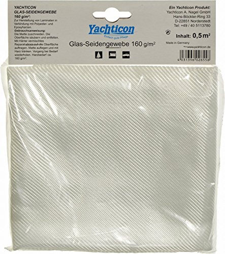YACHTICON Glasseidengewebe 160g/m² - 5 m²