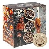 Corasol Flavoured Coffee Kaffee-Adventskalender 2020 mit 24 aromatisierten Kaffee-Kreationen, gemahlen für Genießer (240 g)