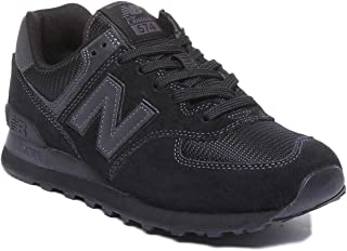 [ニューバランス] Classics クラシック メンズ 男性用 シューズ 靴 スニーカー 運動靴 ML574v2 - Black/Black [並行輸入品]