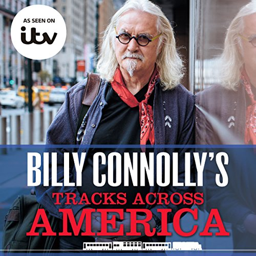 Billy Connolly's Tracks Across America audiobook cover art