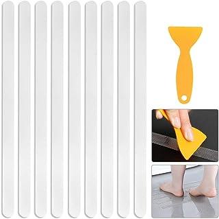Piscinas Escaleras y Otras Superficies Lisas Nuluxi Tira Antideslizante Autoadhesiva Transparente Ba/ño Pegatinas de Ducha Tiras de Seguridad Transparente Tira de Seguridad para Ba/ñera para Jacuzzis