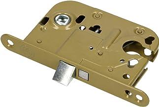 KOTARBAU Insteekslot 72/45 mm DIN links/rechts profielcilinder universeel kamerdeurslot deurslot staal gepoedercoat roestv...