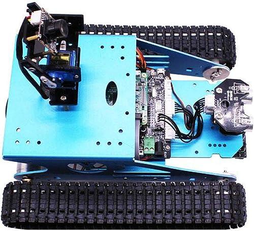 GYFY Raupentank intelligentes Auto Multifunktionsprogrammierung WiFi Wireless Video Robot DIY-Kit