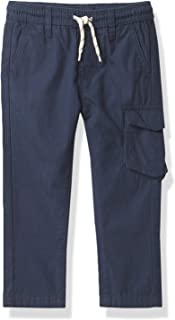 Nautica boys Elastic Waist Twill Cargo Pant Casual Pants