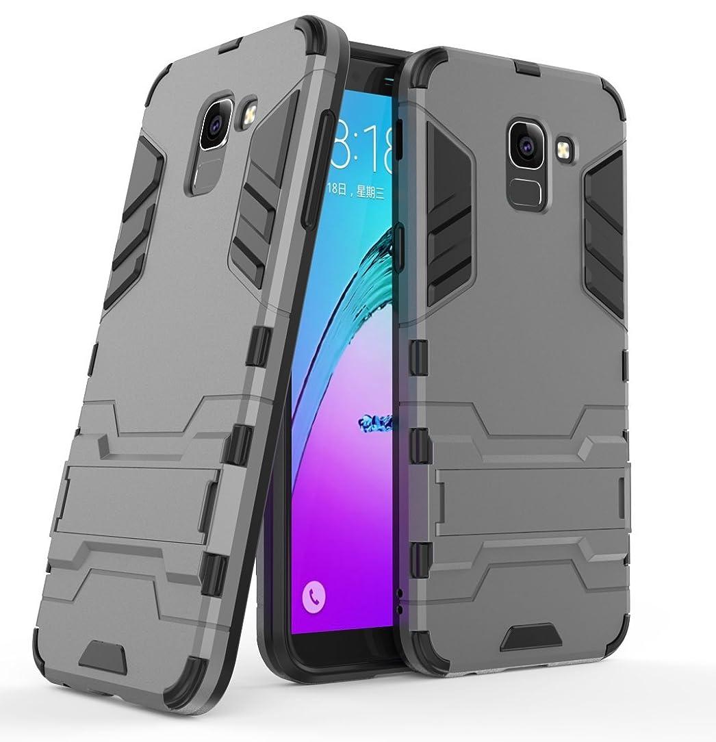 Samsung Galaxy J6 (2018) Case, FoneExpert Shockproof Rugged Impact Armor Slim Hybrid Kickstand Protective Cover Case for Samsung Galaxy J6 (2018)