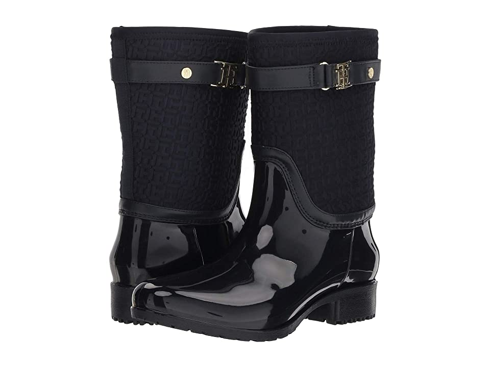 e33aa02953f0c9 Tommy Hilfiger Floredo (Navy) Women s Shoes