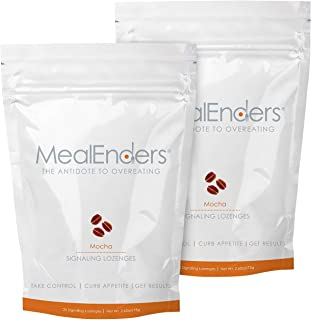 MealEnders Cravings Control Lozenges | Stop Overeating, Curb Cravings and Reduce Snacking | 25-Count Bag (2...
