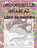 Coccodrillo Gharial - Libro da colorare