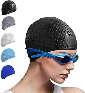 Tripsky Silicone Swim Cap,Comfortable Bathing Cap Ideal...
