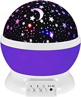PALLVIT Star Projector Night Light for Kids, Rotating Starry Night Light Projection Lamp Party Favor Gifts for 3-12 Year O...