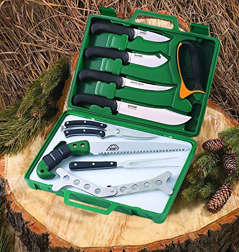 Outdoor Edge Game Processor Butcher Kit with Carrying Case, PR-1