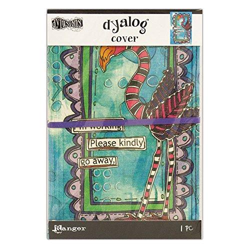Ranger Dylusions Frame Cover Toile imprimée, matériau synthétique, multicolore, 22,2 x 15 x 1 cm