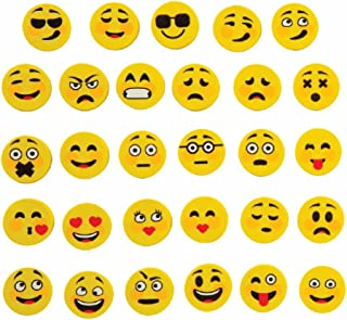 Fun Express Emoji Erasers Bulk Party Favours Student Rewards - 250 pcs