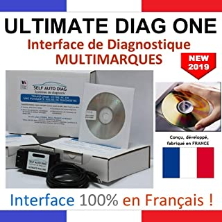 ULTIMATE DIAG ONE – Interface de diagnostic MULTIMARQUES – Version CD-ROM –..