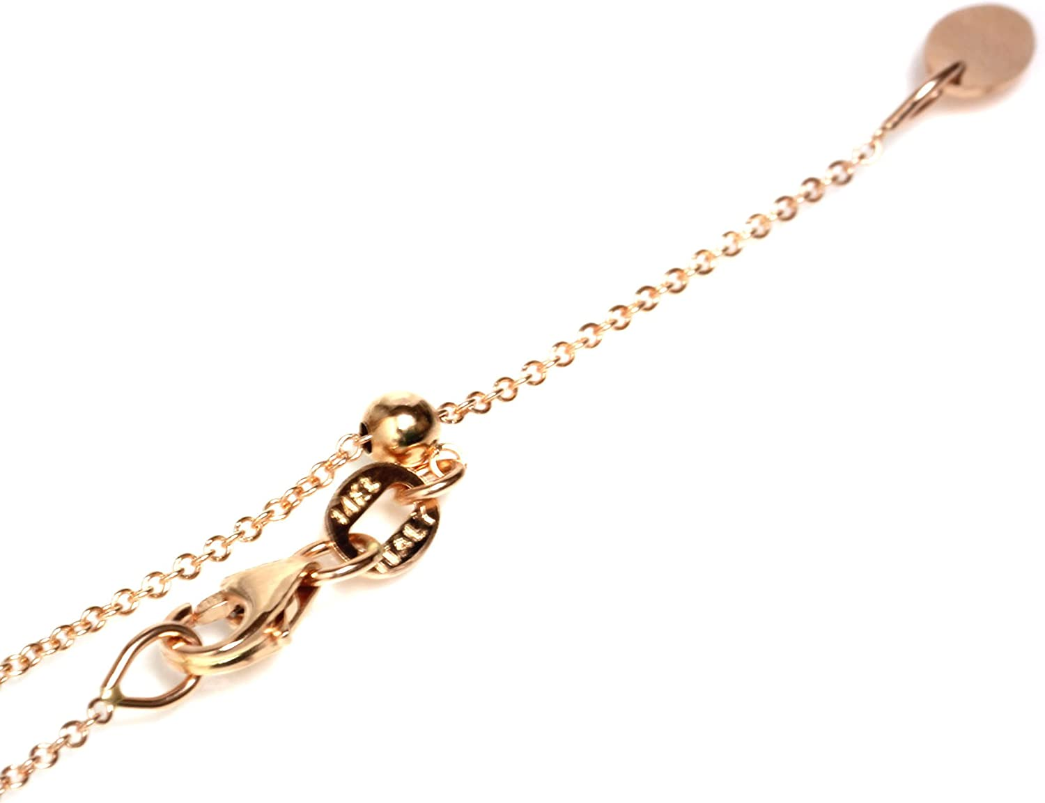 Seven Seas Pearls 14kt Solid Rose Gold Adjustable Chain 14