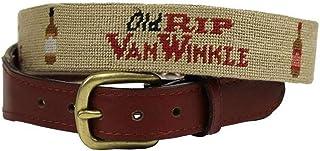 Old Rip Van Winkle (Pappy Van Winkle) Needlepoint Belt in...