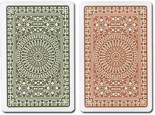 Modiano G/B Bridge Club Index (Regular) 100% Plastic Playing Card Set