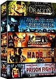 Action aventure - Coffret 5 films n° 3 : La colère du Dragon + Le pénitencier + Ken le survivant + Made Men + Prison Fights [Francia] [DVD]