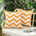 Woaboy Pack of 2 Decorative Outdoor Waterproof Throw Pillow…