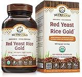 NutriGold Red Yeast Rice 120 Veg Caps