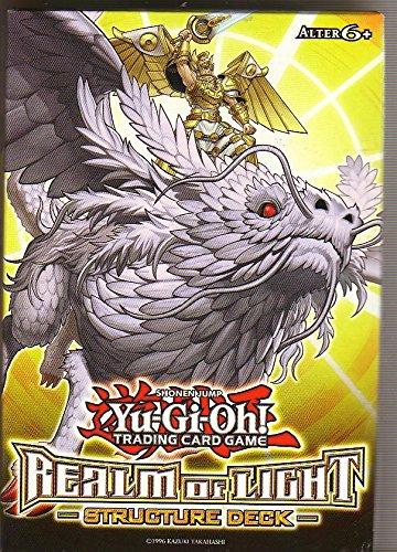 Yu-Gi-Oh! Realm of Light Structure Deck: Inhalt 37 Common Karten, 2 Ultra Rare Karte , 2 Super rare Karten, 1 Regelheft, 1 Deluxe-Spielunterlage+ 1 Duellführer