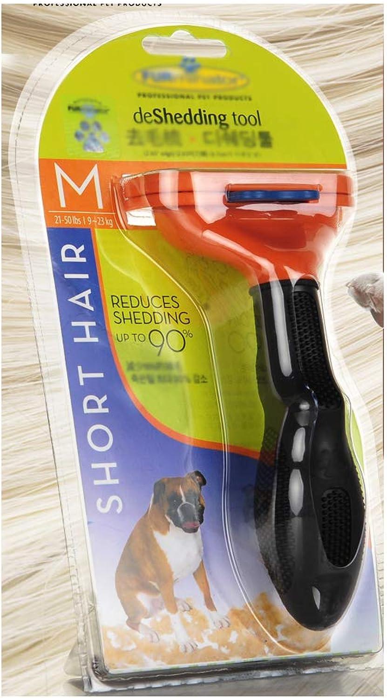 Pet Brush Dog Brush cat Brush pet Grooming Brush Comb Large Dog Hair Brush Shedding Grooming Tools pet Supplies MediumSized Dog Shorthaired