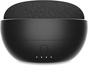 JOT Portable Battery Base for Google Home Mini (Carbon)