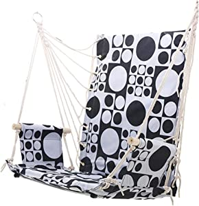 CHENTAOCS Outdoor Hanging Chair  Student Dormitory Hanging Chair  Indoor Household Hammock  Adult Cradle  Dormitory Swing  Color
