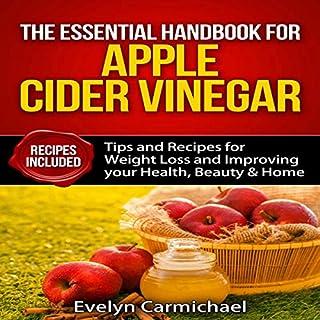 The Essential Handbook for Apple Cider Vinegar audiobook cover art