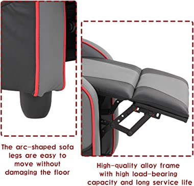 Recliner Chair Gaming Recliner Gaming Chairs for Adults Video Game Chairs for Living Room Couch Gamer Chair Reclining Home Th