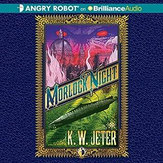 Morlock Night audiobook cover art