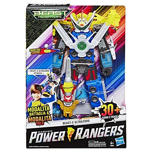 Hasbro Power Rangers Morphers Beast-X Ultrazord con Suoni e Frasi, Versione Italiana, Multicolore, E5894103