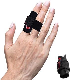 VHOPMORE Neoprene Finger Splint Wraps Adjustable Finger Brace Trigger Finger Buddy Splints Mallet Finger Guards for Arthri...
