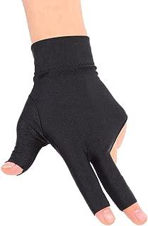 Vbestlife Billiards Glove 2 PCS Snooker Shooter Cue Pool Gloves Left Hand Open 3 Finger Spandex Glove