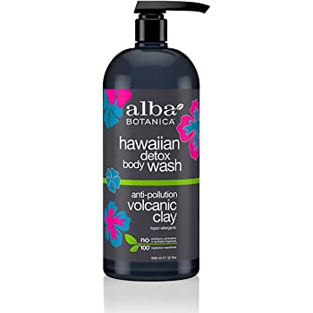 ALBA BOTANICA Wash Body Hawaiian Detox, 32 Ounce