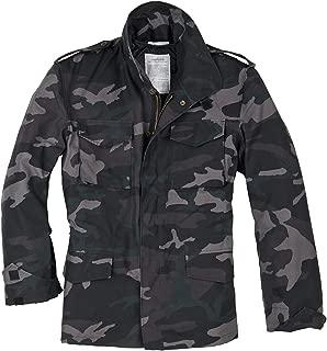 Surplus Men's US Field Jacket M65 Black Camo