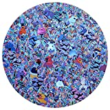 Jigsaw Puzzle Adult 1000 Piece Bird Round Art Oil Painting Animal Nature Trippy Forest Fantasy Cute Colorful Lage Challenge Gift Puzzles