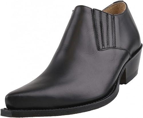 Sendra botas - Mocasines de Piel para Hombre negro negro