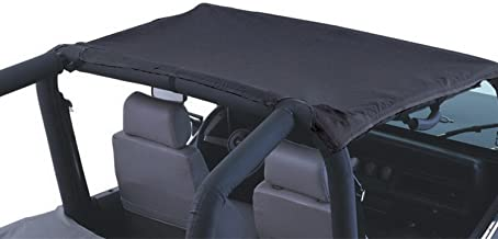 Rampage Products 93335 California Brief Soft Top for 1997-2006 Products Wrangler TJ, Black Diamond