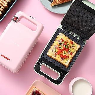 Appareils à sandwich et presses à panini Sandwich Maker ménage, Mini-déjeuner Grille-pain double face chauffage machine al...