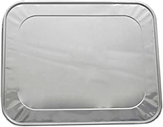 Party Essentials F1050 Half Size Aluminum Foil Lid for Steam Table Pan (Case of 100)