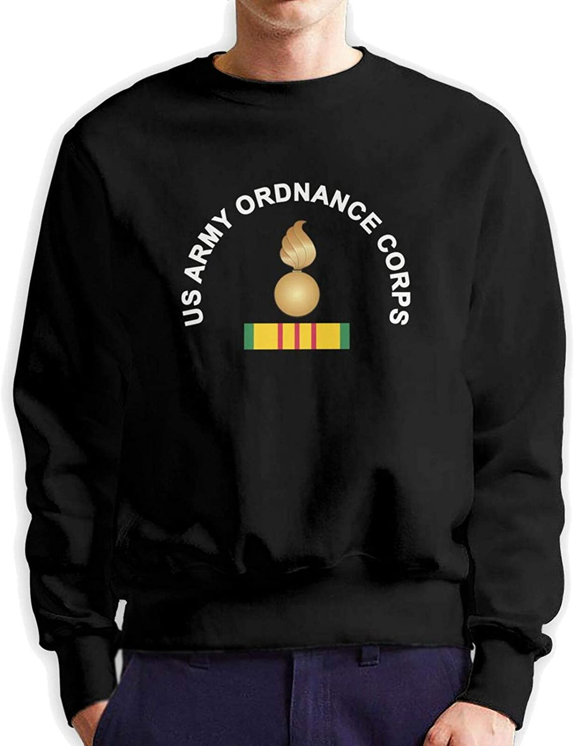 Us Army gift Ordnance Corps Man Crew Neck Cotton Hoodie Hoo Authentic Boston Mall