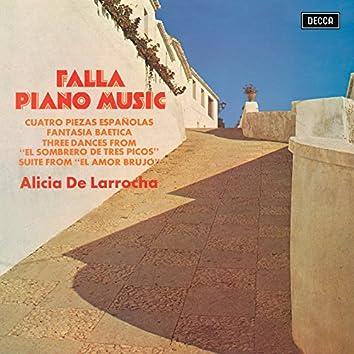 Falla: Piano Music
