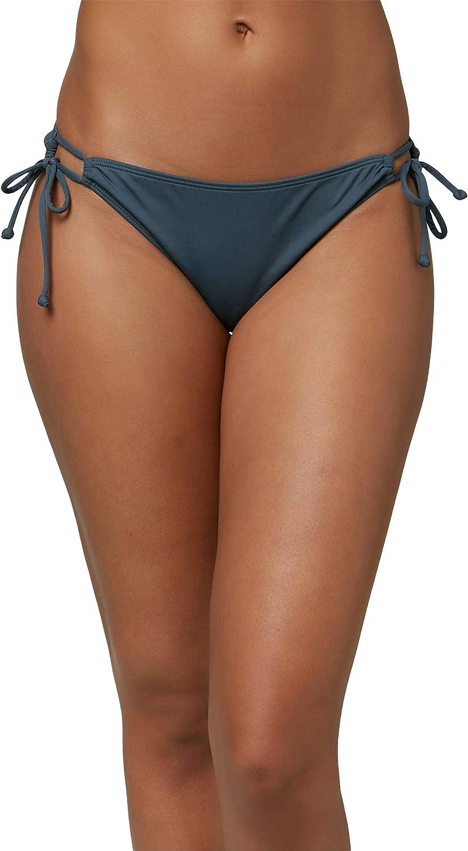 O'NEILL Women's Side Tie Hipster Bikini Swimsuit Bottom