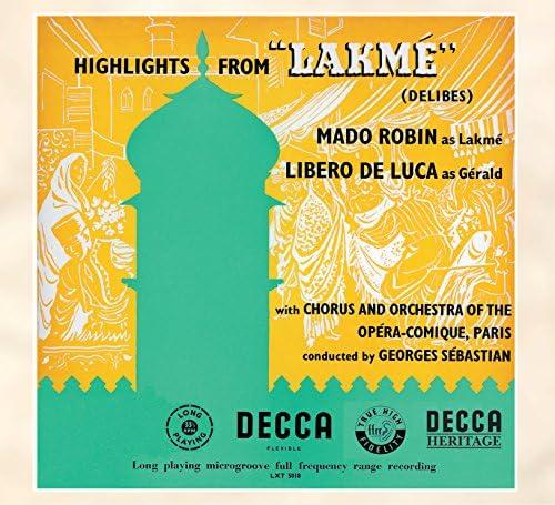 Mado Robin, Libero de Luca, Choeur de l'Opéra-Comique, Paris, Orchestre de l'Opéra-Comique, Paris & Georges Sebastian