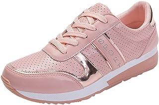 beautyjourney Scarpe Donna Ginnastica Sneakers Donna Zeppa estive Sneakers Donna Scarpe Donna Sportive Zeppa Fitness Joggi...