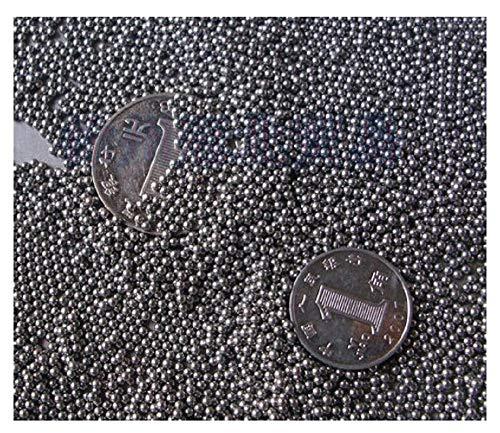 Stahlkugel 1-2 mm, Kohlenstoffstahlkugel, Kohlenstoffstahlkugel 1-2 mm Durchmesser, Mikrokugel, 1 kg @ 1 mm